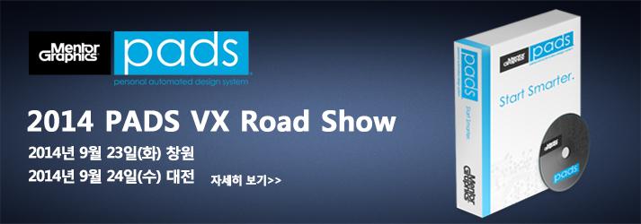 PADS VX Roadshow